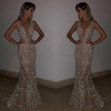 Blingbling Sequined Mermaid Evening Dress
