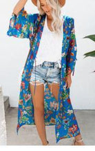Fashion Beach Printed Colour Sunscreen Cardigan