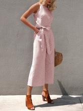 Fashion Striped Off The Shoulder Wide Leg Jumpsuits