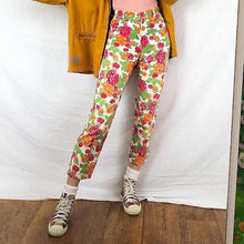 Sweet Printed Slim Long Slacks