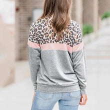 Round Neck Leopard Print Sweater