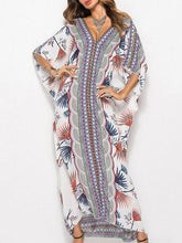 Dovechic Loose Floral Printed Beach Kaftans