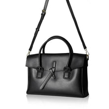 Woman Vintage Briefcase - Black