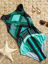 Dovechic Printed Dull Sexy One-piece Swimwear
