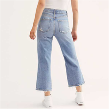 Women's fashion simple young energetic jeans