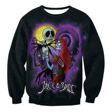 Fashion Round Neck Halloween Zombie Sweatershirt