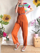 Women's Commuting Sleeveless Pure Color Jumpsuit