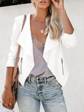 Casual Slim Solid Color Suit