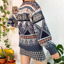 Women's Casual Colouring Loose Sweater