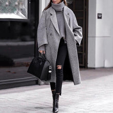 Classic Solid Color One Button Coat