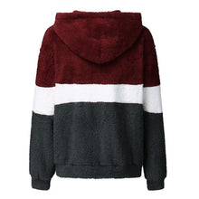 Women's Casual Colouring Long Sleeve Hoodie