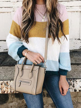 Fashion Knitting Striped Sweaters