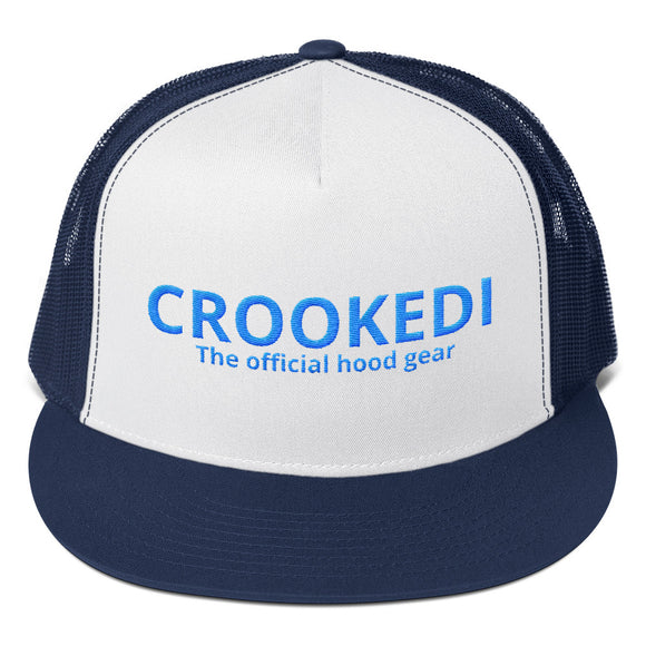 CROOKEDI Trucker Cap