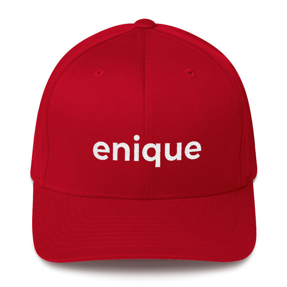 enique Structured Twill Cap