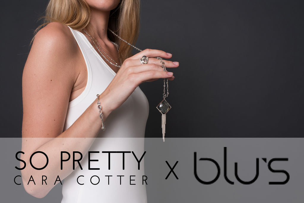 So Pretty Cara Cotter  X BLU'S