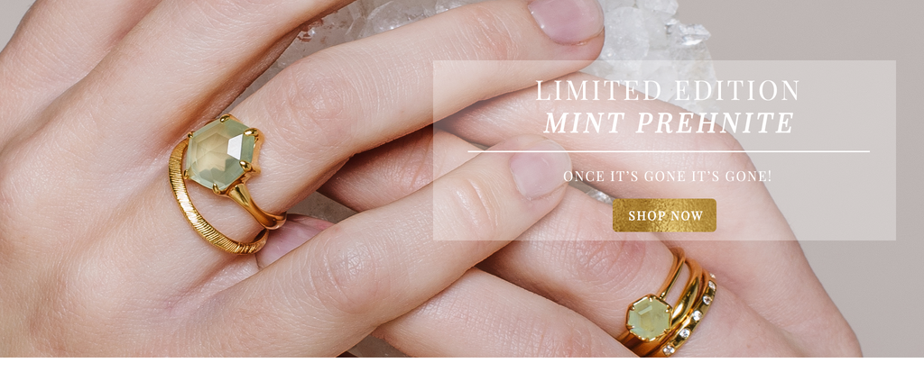 Limited Edition Mint Prehnite