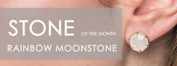 Stone Of The Month: Rainbow Moonstone