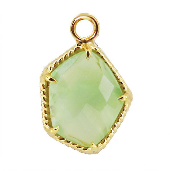 HONOUR ICON - MINT PREHNITE & GOLD