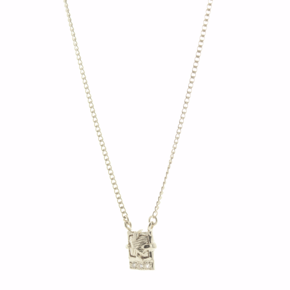 MINI BRAVE NECKLACE - SILVER