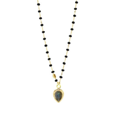 ADORE ICON - LABRADORITE & GOLD - SO PRETTY CARA COTTER