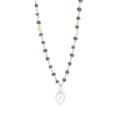 ADORE ICON - WHITE TOPAZ & SILVER - SO PRETTY CARA COTTER