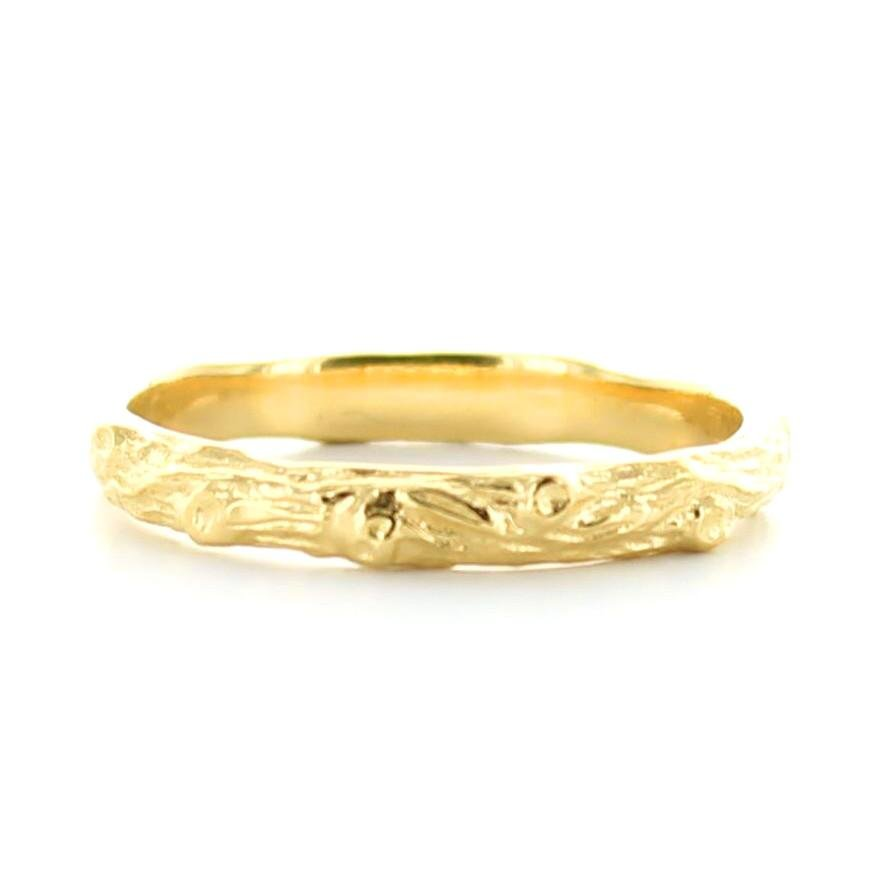 ADORE STACKING RING & PENDANT GOLD - SO PRETTY CARA COTTER