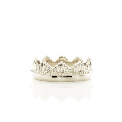 BELIEVE SOLEIL CROWN RING - SILVER - SO PRETTY CARA COTTER