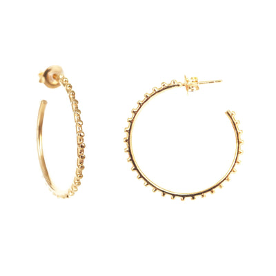 BELIEVE SOLEIL HOOPS - GOLD - SO PRETTY CARA COTTER