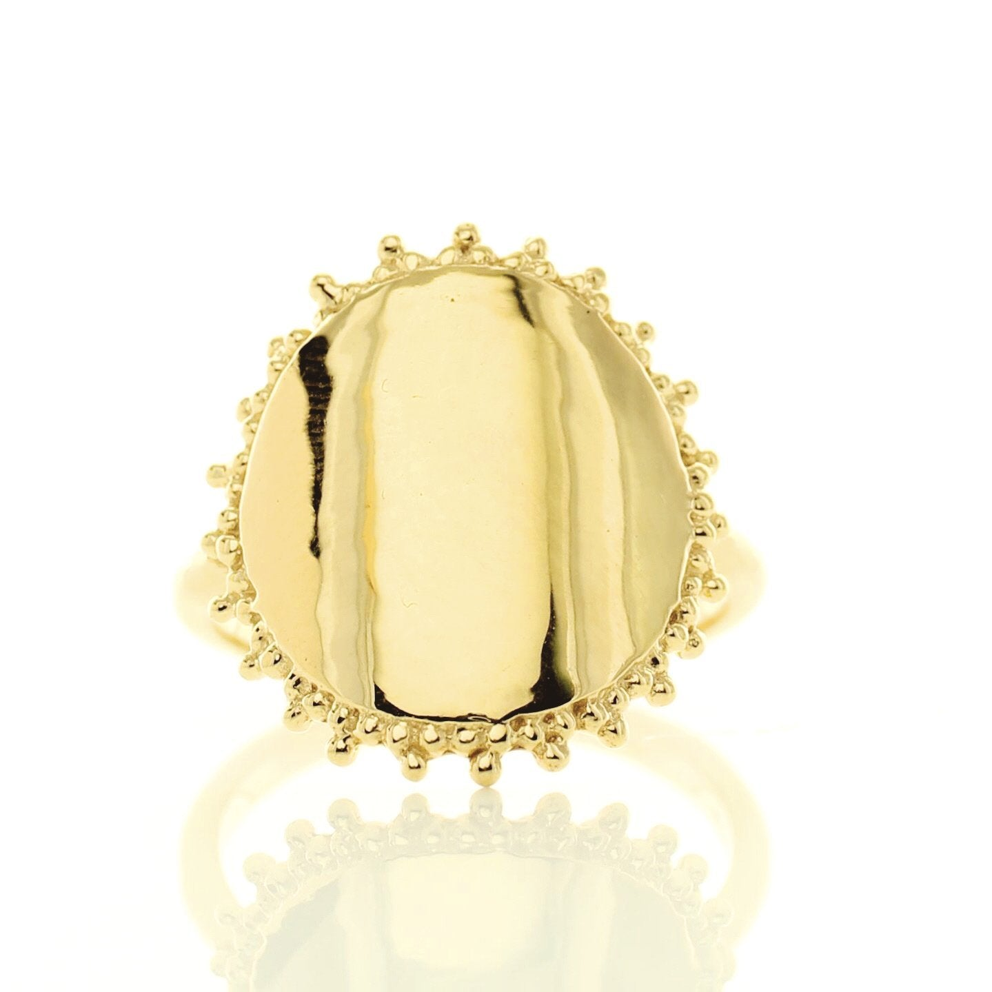 BELIEVE SOLEIL RING - GOLD - SO PRETTY CARA COTTER