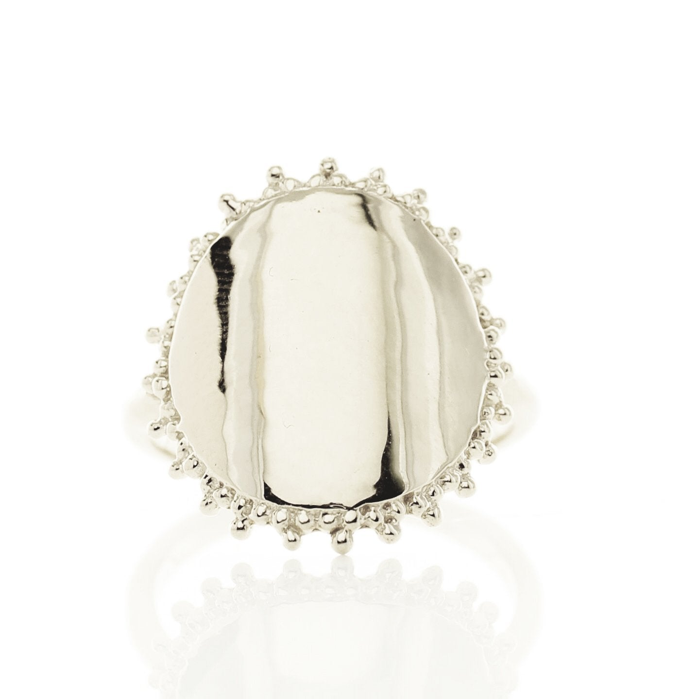 BELIEVE SOLEIL RING - SILVER - SO PRETTY CARA COTTER