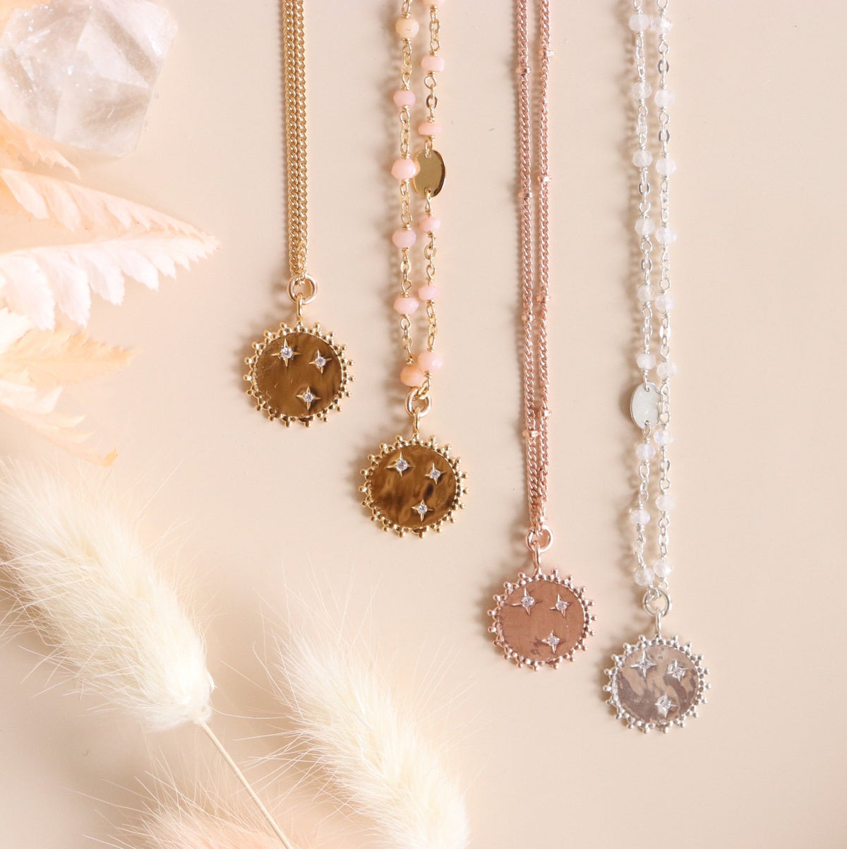 BELIEVE SOLEIL STAR ICON - CUBIC ZIRCONIA & GOLD - SO PRETTY CARA COTTER