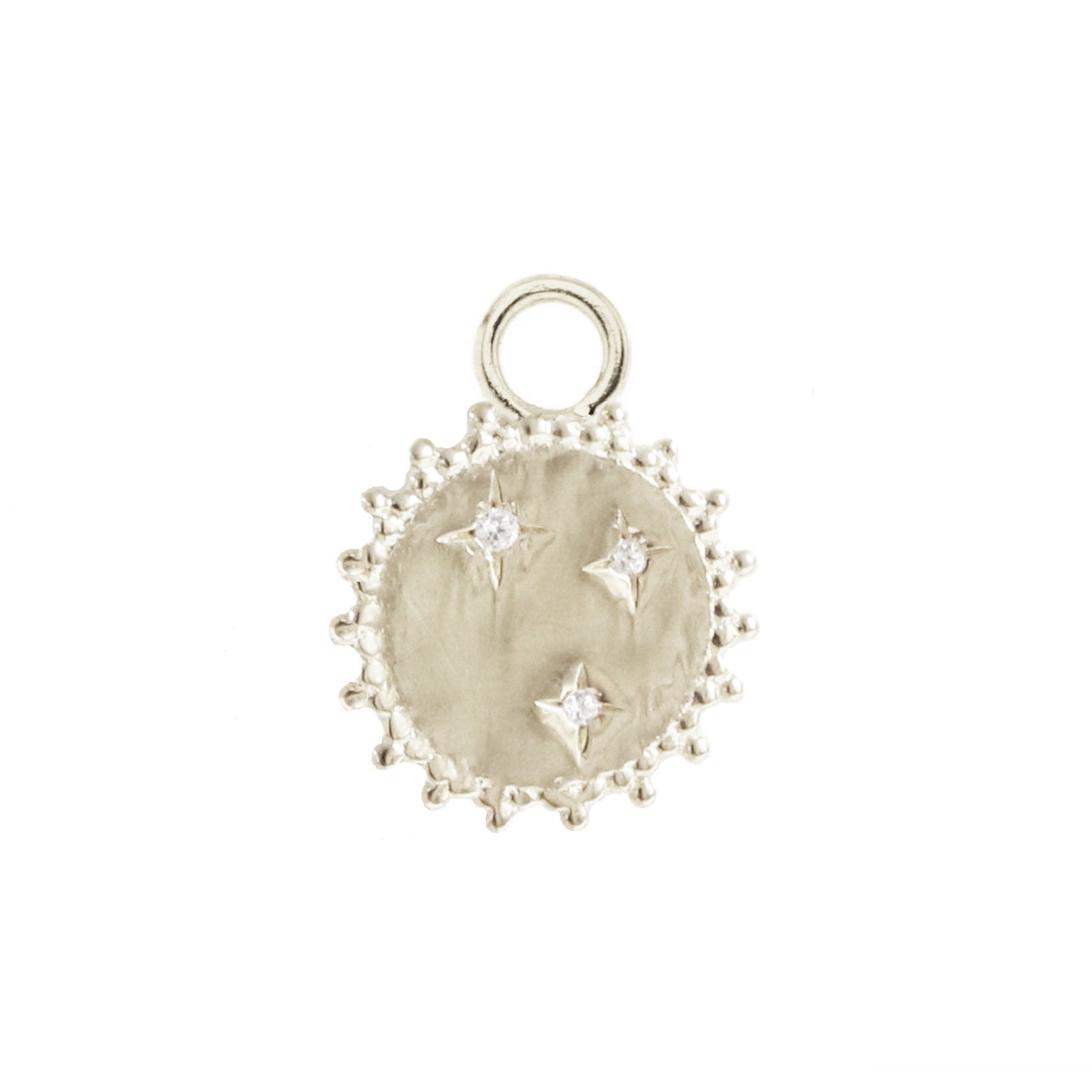 BELIEVE SOLEIL STAR ICON - CUBIC ZIRCONIA & SILVER - SO PRETTY CARA COTTER