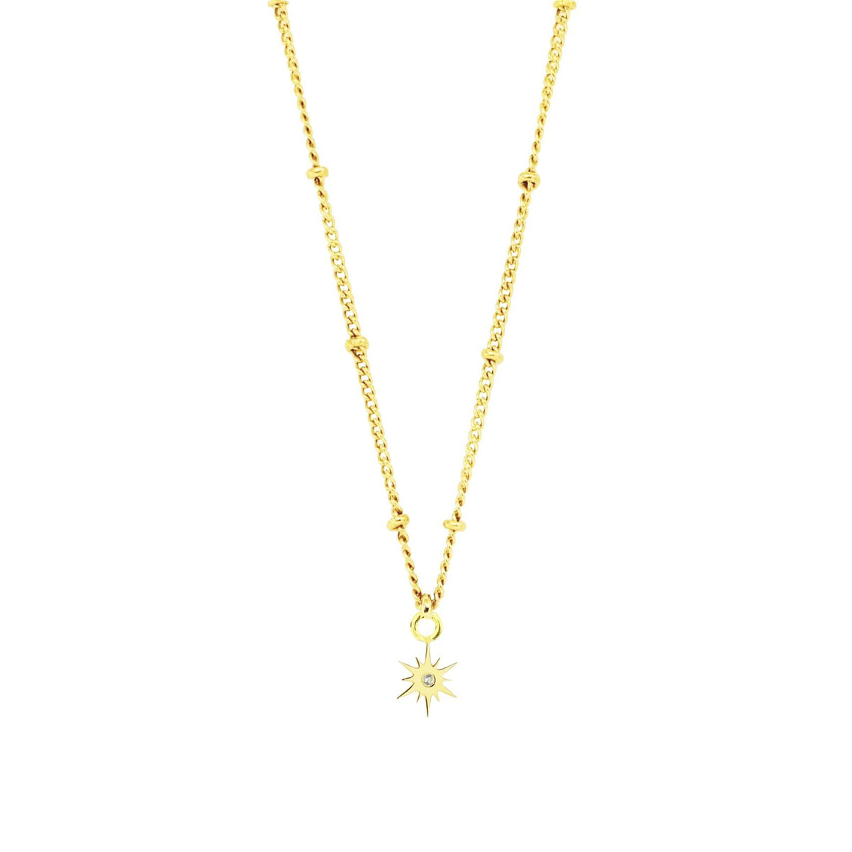 BELIEVE STELLAR ICON - CUBIC ZIRCONIA & GOLD - SO PRETTY CARA COTTER