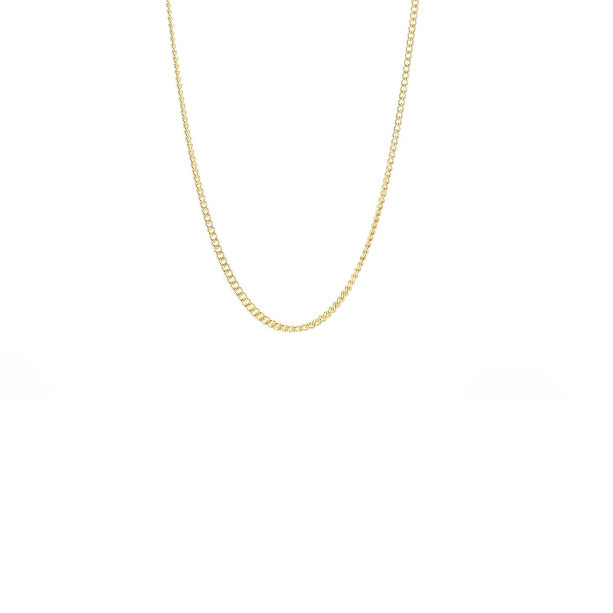 "CHARMING 14-17"" SHORT NECKLACE GOLD - SO PRETTY CARA COTTER"