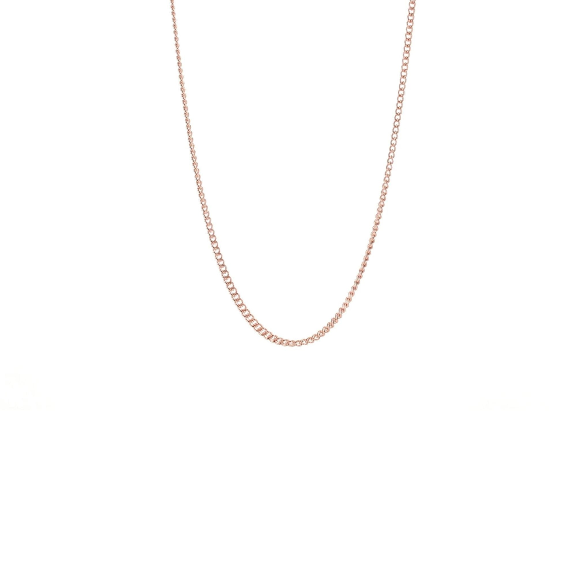 "CHARMING 18-20"" NECKLACE ROSE GOLD - SO PRETTY CARA COTTER"
