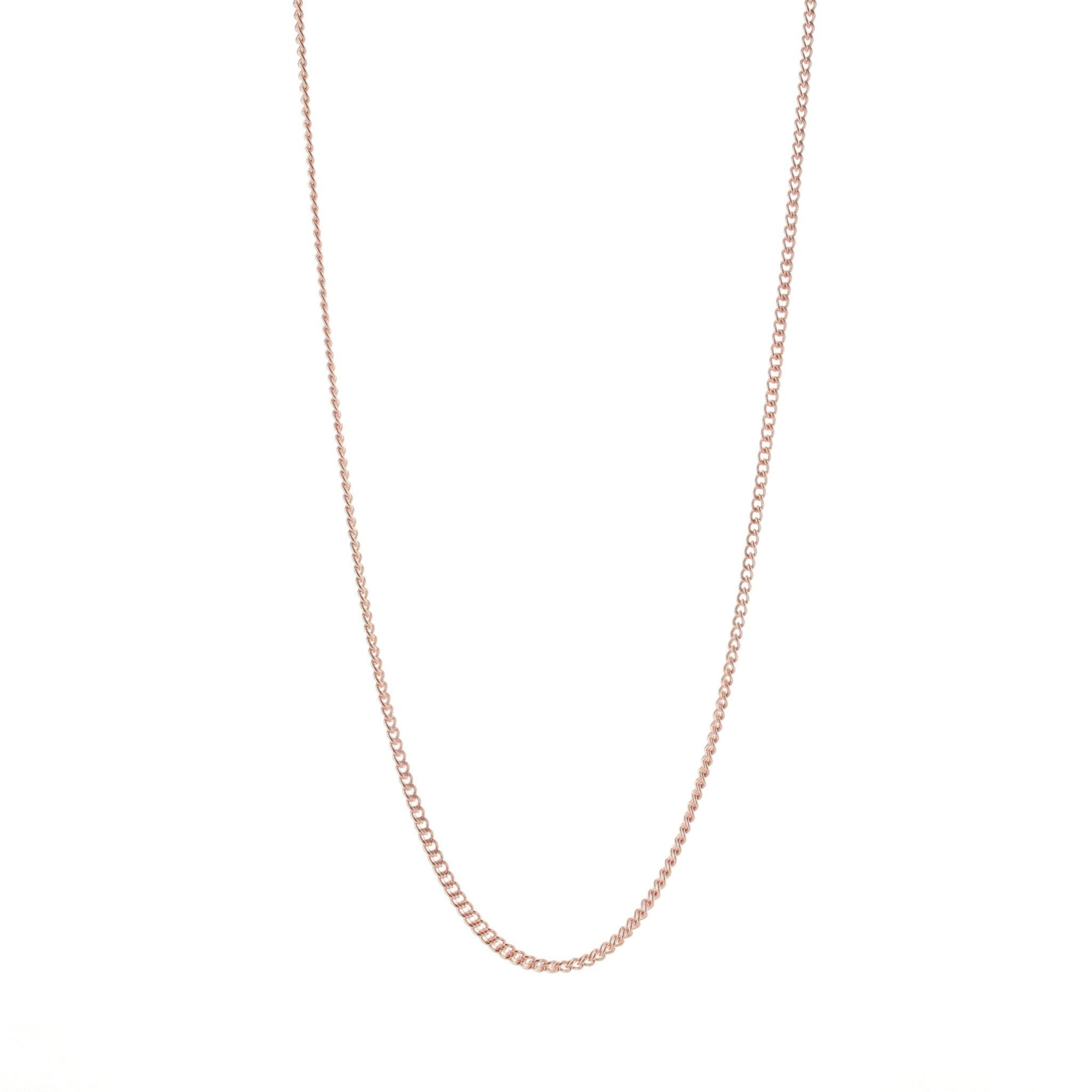 "CHARMING 28-30"" NECKLACE ROSE GOLD - SO PRETTY CARA COTTER"