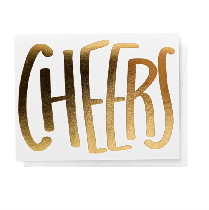 Cheers, Greeting Card - SO PRETTY CARA COTTER