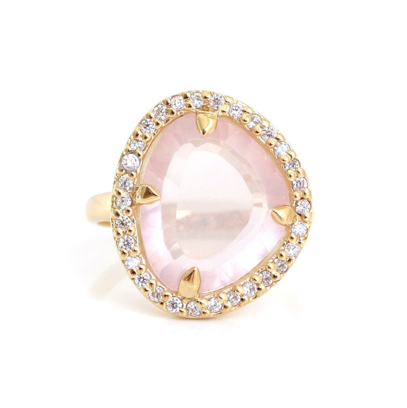 Pretty in Pink statement ring