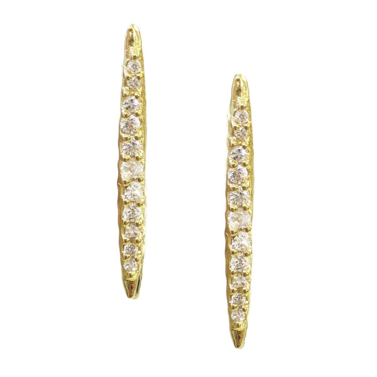 DREAM STARDUST STUDS - CUBIC ZIRCONIA & GOLD - SO PRETTY CARA COTTER
