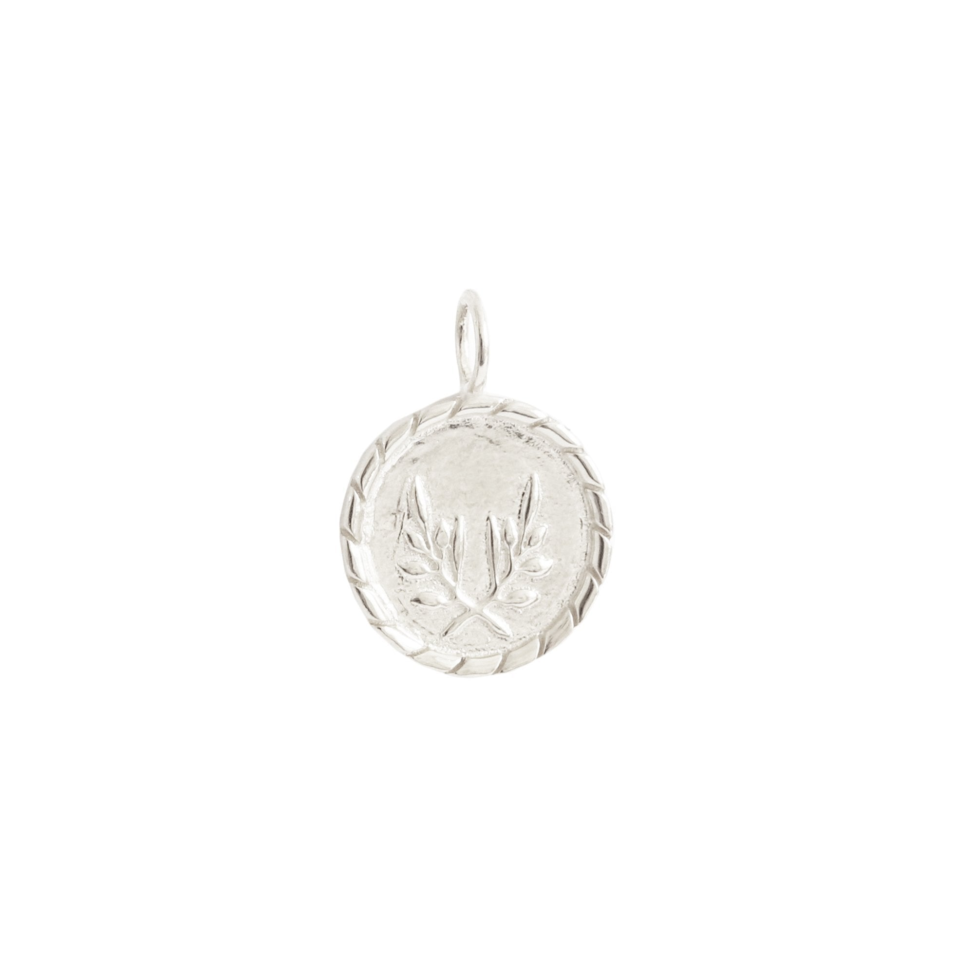 FRAICHE INSPIRE TOKEN PENDANT - SILVER - SO PRETTY CARA COTTER