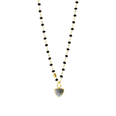FREEDOM ICON - LABRADORITE & GOLD - SO PRETTY CARA COTTER