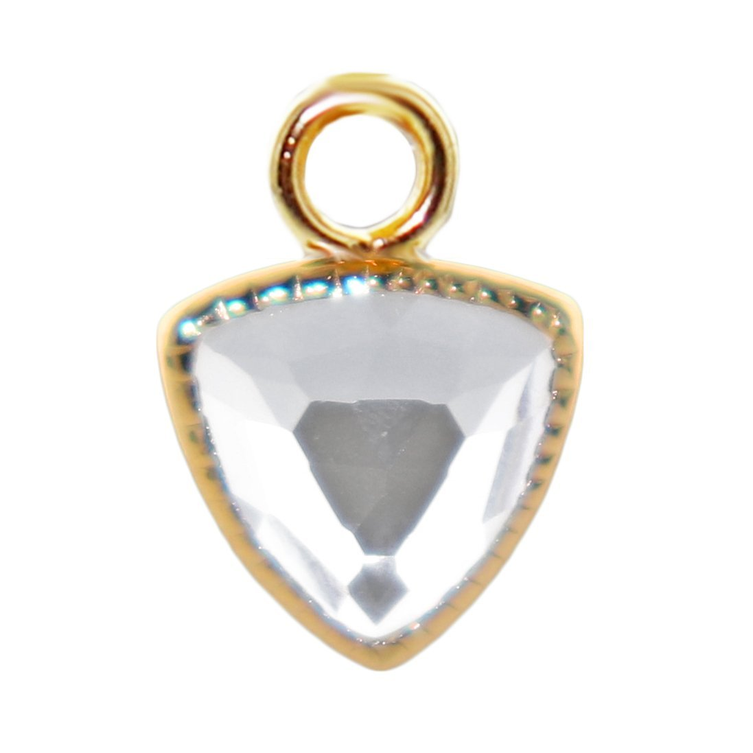 FREEDOM ICON - WHITE TOPAZ & GOLD - SO PRETTY CARA COTTER