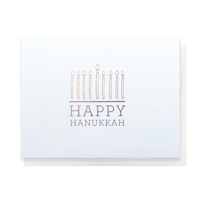 Happy Hanukkah, Greeting Card - SO PRETTY CARA COTTER