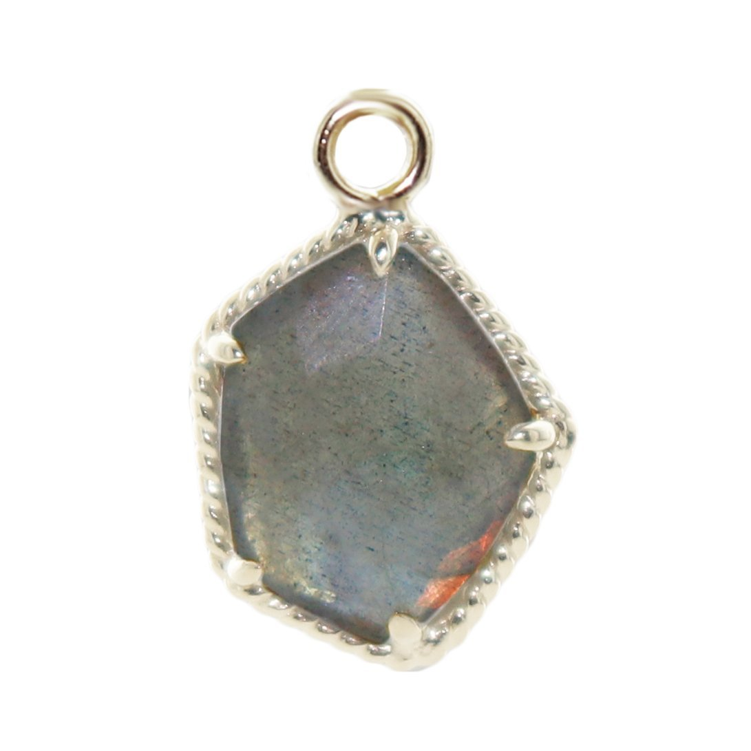 HONOUR ICON - LABRADORITE & SILVER - SO PRETTY CARA COTTER