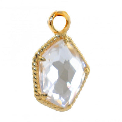 HONOUR ICON - WHITE TOPAZ & GOLD - SO PRETTY CARA COTTER