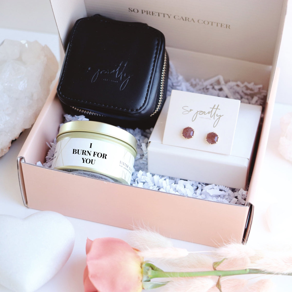 I Burn For You Valentine's Day Box - SO PRETTY CARA COTTER