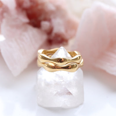 KIND BAND RING - GOLD - SO PRETTY CARA COTTER