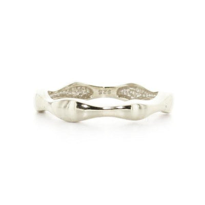 KIND BAND RING - SILVER - SO PRETTY CARA COTTER