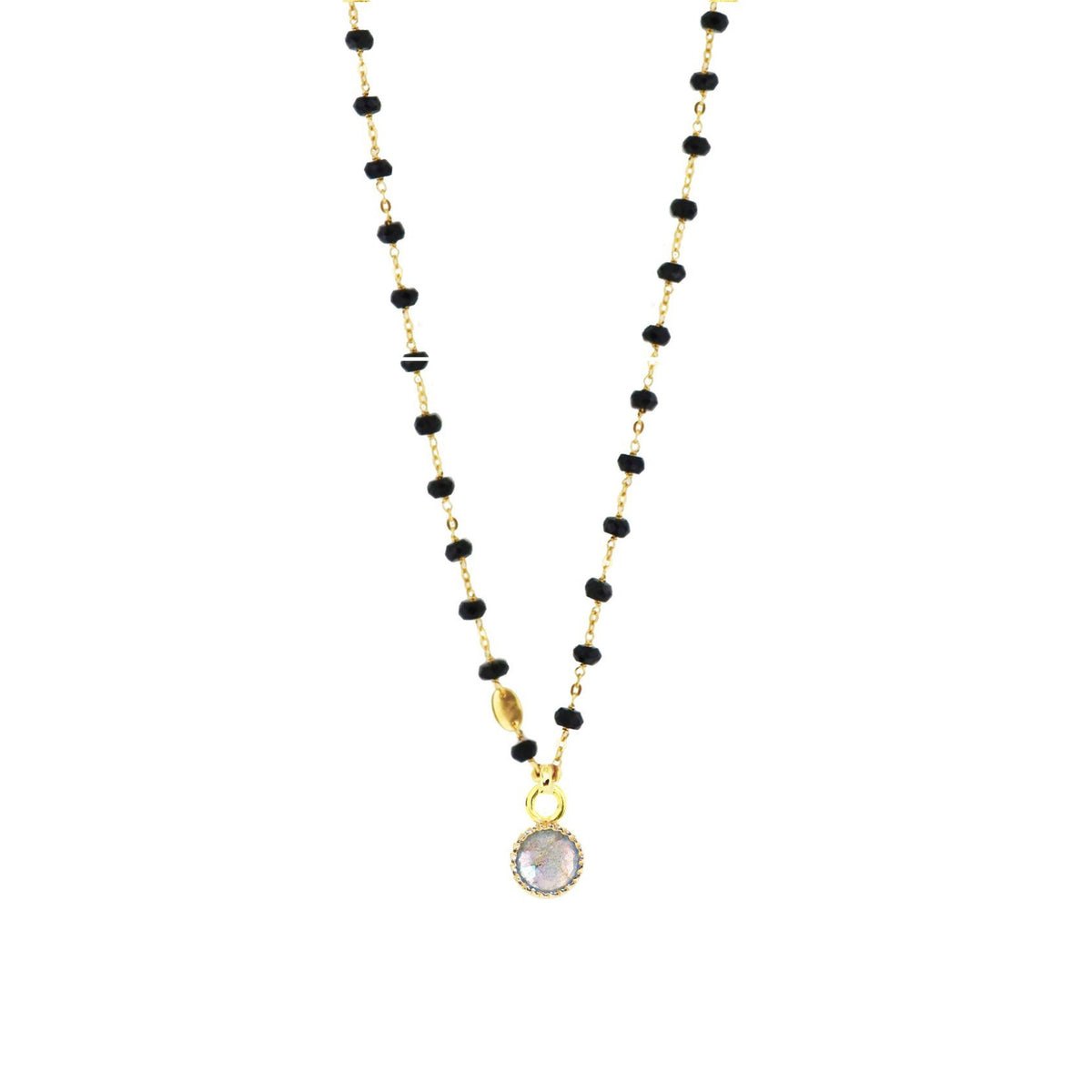 LEGACY ICON - LABRADORITE & GOLD - SO PRETTY CARA COTTER