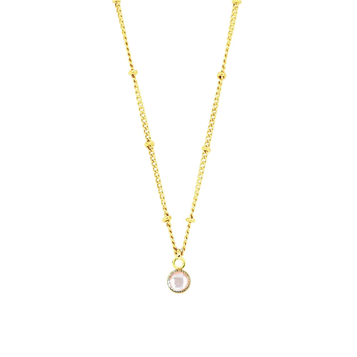 LEGACY ICON - PINK QUARTZ & GOLD - SO PRETTY CARA COTTER